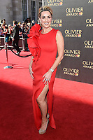Claire Sweeney at The Olivier Awards 2017 at the Royal Albert Hall, London, UK. <br /> 09 April  2017<br /> Picture: Steve Vas/Featureflash/SilverHub 0208 004 5359 sales@silverhubmedia.com