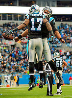 Photography of the Carolina Panthers v. The San Diego Chargers, at Bank of America Stadium in Charlotte, North Carolina.<br /> <br /> Charlotte Photographer - PatrickSchneiderPhoto.com
