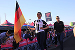 Team Sunweb at the Team Presentation in Alghero, Sardinia for the 100th edition of the Giro d'Italia 2017, Sardinia, Italy. 4th May 2017.<br /> Picture: Eoin Clarke | Cyclefile<br /> <br /> <br /> All photos usage must carry mandatory copyright credit (&copy; Cyclefile | Eoin Clarke)