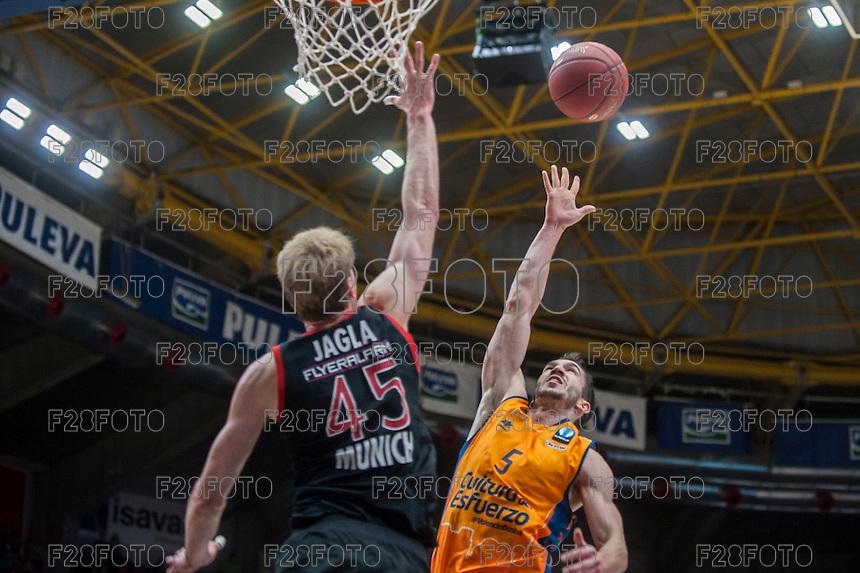 Valencia Basket 80-58 Bayer Munich (4-3-2015)