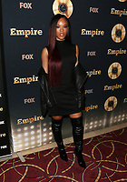 "LOS ANGELES, CA - March 20: Serayah McNeill, At Spring Premiere Of FOX's ""Empire"" At The Pacific Theatres at The Grove In California on March 20, 2017. Credit: FS/MediaPunch"