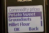 Networks such as MTN offer commodity prices by text message. As many as 70% of Ugandans are rural farmers.