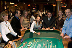Craps table in Las Vegas, Nevada, Caesars Palace and Casino, gaming, gambling, craps, craps players, throwing dice, die, model released, craps table, NV, Las Vegas, Photo nv226-16940.Copyright: Lee Foster, www.fostertravel.com, 510-549-2202,lee@fostertravel.com