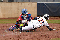 SAN ANTONIO, TX - MARCH 08, 2014: The Louisiana Tech University Lady Techsters versus the University of Texas at San Antonio Roadrunners Softball at Roadrunner Field. (Photo by Jeff Huehn)