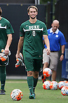 30 August 2015: Duke's Mitch Kupstas. The Duke University Blue Devils hosted the DePaul University Blue Demons at Koskinen Stadium in Durham, NC in a 2015 NCAA Division I Men's Soccer match.
