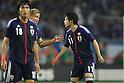 (L to R) .Keisuke Honda (JPN), .Ryo Miyaichi (JPN), .MAY 23, 2012 - Football /Soccer : .Kirin Challenge Cup 2012 .between Japan 2-0 Azerbaijan .at Shizuoka Stadium Ecopa, Shizuoka, Japan. .(Photo by YUTAKA/AFLO SPORT) [1040]