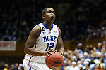 17 December 2013: Duke's Chelsea Gray. The Duke University Blue Devils played the University of Connecticut Huskies at Cameron Indoor Stadium in Durham, North Carolina in a 2013-14 NCAA Division I Women's Basketball game. UConn won the game 83-61.