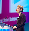 The Labour Party <br /> Conference <br /> day 1<br /> 22nd September 2013 <br /> at The Labour Annual Party Conference, Brighton, Great Britain <br /> <br /> Yvette Cooper <br /> shadow secretary of state for Women &amp; Equality <br /> <br /> <br /> Photograph by Elliott Franks <br /> contact:<br /> Tel: 07802 537 220 <br /> email: elliott@elliottfranks.com<br /> www.elliottfranks.com<br /> <br /> Agency space rates apply <br /> editorial use only <br /> 2013 &copy; Elliott Franks