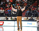 "LSU head coach Trent Johnson vs. Ole Miss at the C.M. ""Tad"" Smith Coliseum in Oxford, Miss. on Saturday, February 25, 2012. (AP Photo/Oxford Eagle, Bruce Newman)..."