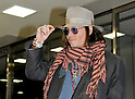 Johnny Depp, Mar 02, 2011 : Johnny Depp, Japan, March 2, 2011 : Actor Johnny Depp arrives at Narita International Airport in Chiba prefecture, Japan, on March 2, 2011.