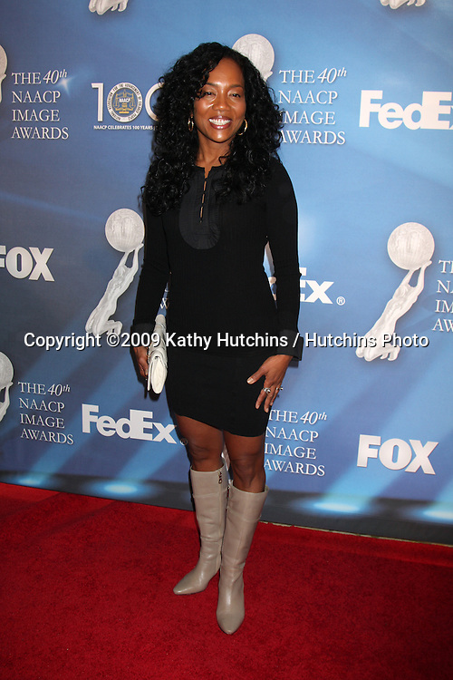 Sonja Sohn arriving at the NAACP Luncheon  at the Beverly Hills Hotel in Beverly Hills, CA on .February 7, 2009.©2009 Kathy Hutchins / Hutchins Photo..