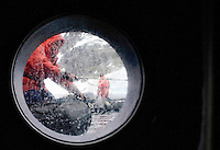 Jenny Island, Antarctica, Jan. 7, 2007 - Members of the National Geographic Endeavor prepare Zodiacs for departure for the nearby island. The ship uses the Zodiacs to ferry passengers, crew and naturalists from the ship around the mainland to minimize impact and because there are few possible landings for ships. The continent of Antarctica is has no indigenous people, no permanent inhabitants and is not the sovereign territory of any nation. It does however have politics.  It is governed by an international agreement known as the Antarctic Treaty, which has been signed by 45 countries. The treaty stipulates that the continent can only be used for scientific research, which must be shared. Until, the mid 1980's the only visitors were scientists. By the mid 90's the number of tourists surpassed the number of scientists. In the 2005-06 season that number jumped to nearly 30,000. Currently there are few restrictions of the number of visitors, with most tour companies also supporting research. Lindblad/National Geographic Tour is one of those companies. The tourism finances the research arm of the company and allows for a meaningful opportunity to educate travelers about the many aspects of this valuable ecosystem. .