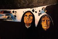 Horizontes de Tormenta (1987) by Mauricio Mejia, Museo de Arte de El Salvador (MARTE), San Salvador, El Salvador