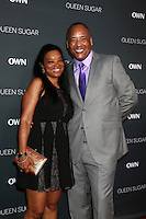 BURBANK, CA - AUGUST 29: Yuri Brown, Tony Winters<br />at the Premiere Of OWN's &quot;Queen Sugar,&quot; Warner Brothers Studios, Burbank, CA 08-29-16Credit:  David Edwards/MediaPunch