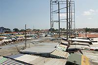 Neoplan bus sation, mobile phone market, near Nkrumah Circle