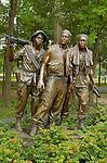 The Three Soldiers, Frederick Hart 1984, Vietnam Veterans Memorial, National Mall, Washington DC