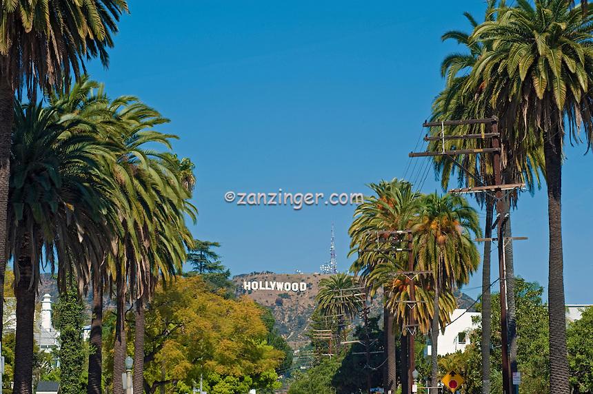 Hollywood Sign, Hollywood Hills, Mt. Lee, Los, Angeles, CA