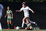 31 August 2014: Duke's Kelly Cobb (9). The Duke University Blue Devils hosted the University of Alabama Birmingham Blazers at Koskinen Stadium in Durham, North Carolina in a 2014 NCAA Division I Women's Soccer match. Duke won the game 3-1.