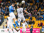 St Johnstone v Inverness Caley Thistle...02.05.15   SPFL<br /> Brian Graham heads in the equaliser<br /> Picture by Graeme Hart.<br /> Copyright Perthshire Picture Agency<br /> Tel: 01738 623350  Mobile: 07990 594431