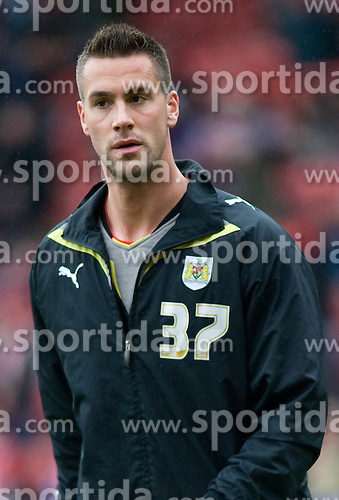 20.03.2010, Ashton Gate, Bristol, ENG, The Championship, Bristol City vs Newcastle United im Bild Stefan Maierhofer, AUT, ist von den Wolverhampton Wanderers an Bristol City ausgeliehen, EXPA Pictures © 2010, PhotoCredit: EXPA/ Propaganda/ G. Davies / SPORTIDA PHOTO AGENCY