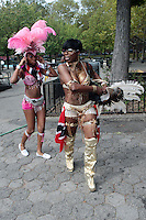 The 2011 West Indian Day Carnival comes to Eastern Parkway for Labor Day in Brooklyn, NY