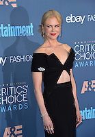 Nicole Kidman at the 22nd Annual Critics' Choice Awards at Barker Hangar, Santa Monica Airport. <br /> December 11, 2016<br /> Picture: Paul Smith/Featureflash/SilverHub 0208 004 5359/ 07711 972644 Editors@silverhubmedia.com