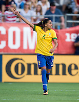 Andressa.  The USWNT defeated Brazil, 4-1, at an international friendly at the Florida Citrus Bowl in Orlando, FL.