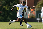 02 November 2008: North Carolina's Nikki Washington. The University of North Carolina Tar Heels defeated the University of Miami Hurricanes 1-0 at Fetzer Field in Chapel Hill, North Carolina in an NCAA Division I Women's college soccer game.