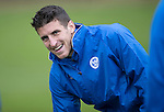 St Johnstone Training&hellip;.14.10.16<br />Michael Coulson pictured in training this morning atr McDiarmid Park ahead of tomorrows game against Kilmarnock<br />Picture by Graeme Hart.<br />Copyright Perthshire Picture Agency<br />Tel: 01738 623350  Mobile: 07990 594431