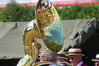 The Victorian era-esque beauty of the design & mechanical complexity of the Sousaphone makes it an under-appreciated  instrument - a Tuba that you literally get into and wear it, the Sousaphone is Brass band bass at it's finest.