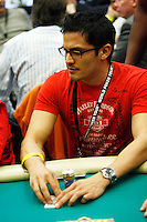 3 March 2007: Celebrity actor Nicholas Gonzalez plays a poker hand in action  during the fifth annual WPT Invitational at the Commerce Casino in Los Angeles, CA.