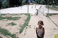 Children playing in Republika Srpska, Bosnia Herzegovina<br />
