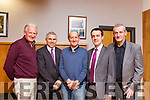 Mike Bickley (Killarney Chamber of Commerce), Stephen Stack (AIB Listowel), Tim McEllistrem (Director of Listowel Mart), Paul Mulvihill  (AIB Listowel) and Cllr. Mike Kennelly pictured at the Listowel Family Resource Centre on Tuesday evening to set up the new Business and Community Alliance.