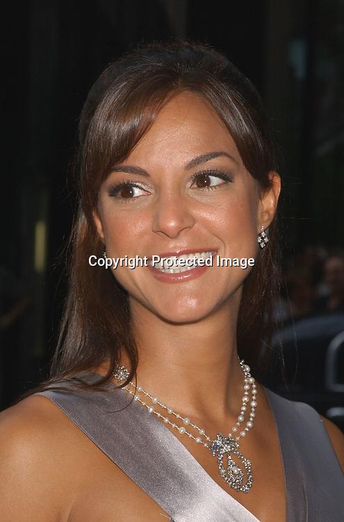 Eva La Rue Callahan..at the National 2003 Gracie Allen Awards event ...