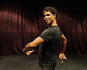 "London, UK. 12.09.2016. Rehearsals get under way for ""Carlos Acosta: The Classical Farewell"", in the Gillian Lynne Studio at Sadler's Wells.  The production will be staged in The Royal Albert Hall, from 3rd - 7th October 2016.  Picture shows: Carlos Acosta. Photograph © Jane Hobson."