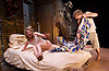 African Gothic <br /> by Reza de Wet <br /> co-directed by Roger Mortimer and Deborah Edgington <br /> at Park Theatre, London, Great Britain <br /> press photocall <br /> 5th January 2016 <br /> <br /> Janna Fox <br /> <br /> Oliver Gomm<br /> <br /> <br /> <br /> Photograph by Elliott Franks <br /> Image licensed to Elliott Franks Photography Services