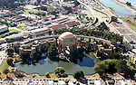October 16, 2005; San Francisco, CA, USA; Aerial view of the Palace of Fine Arts in San Francisco, CA. Photo by: Phillip Carter