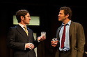 """London, UK. 03/06/2011.  """"Butley"""" by Simon Gray opens at the Duchess Theatre, London. Dominic West (The Wire) stars as the eponymous Butley. Paul McGann (l) as Reg Nuttall and Dominic West (r) as Butley. Photo credit should read Jane Hobson"""