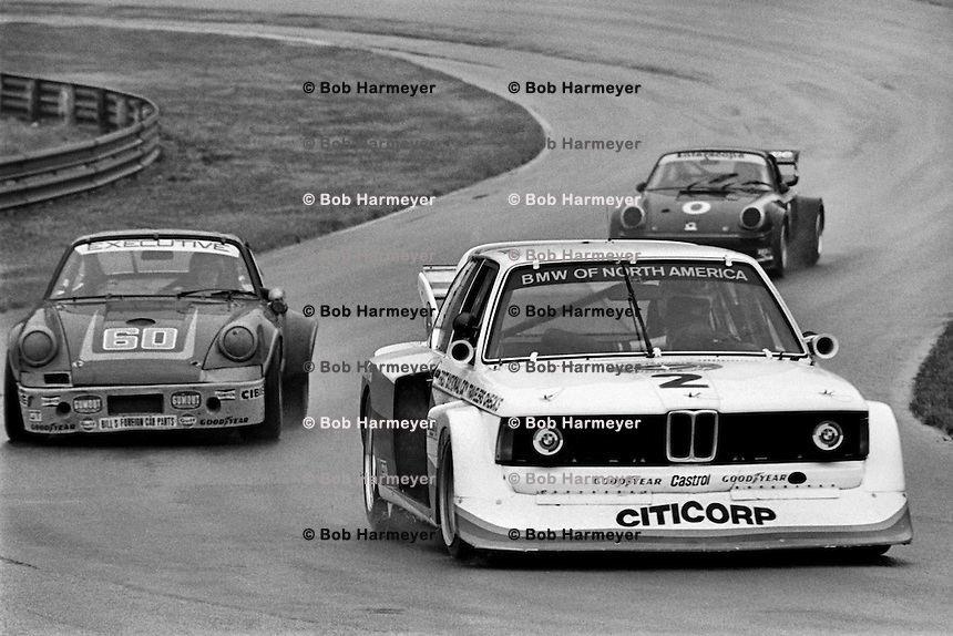 David Hobbs 1977 Imsa Mid Ohio Bob Harmeyer