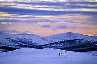 Cross country skiing, Steese Mountain National Recreation Area, Alaska