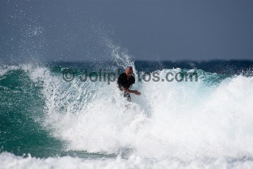 Nine times World Surfing Champion KELLY SLATER (USA) surfing at Snapper Rocks,The Superbank, Coolangatta , Queensland, Australia.  Photo: joliphotos.com