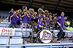 21 March 2015: The JMU pep band. The Ohio State University Buckeyes played the James Madison University Dukes at Carmichael Arena in Chapel Hill, North Carolina in a 2014-15 NCAA Division I Women's Basketball Tournament first round game.
