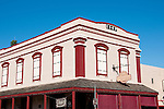Historic buildings, downtown, Mariposa; California, USA.  Photo copyright Lee Foster.  Photo # california121543