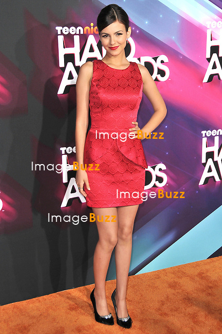 Victoria Justice at the TeenNick Halo Awards..Los Angeles, November 17, 2012.