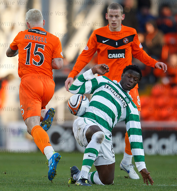 Victor Wanyama and Johnny Russell