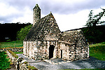 West Ireland, Europe, Glendalough, St. Kevin's church  .Photo: irwest103.Photo copyright: Lee Foster, www.fostertravel.com, 510-549-2202, lee@fostertravel.com