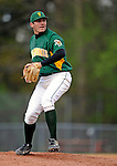 30 April 2008: University of Vermont Catamounts' pitcher Kyle Henry, a Senior from Brattleboro, VT, in action against the University of Massachusetts Minutemen at Historic Centennial Field in Burlington, Vermont. The Catamounts recorded a season-high 19 hits as they defeated the Minutemen 17-4 in their last NCAA non-conference game of the year...Mandatory Photo Credit: Ed Wolfstein Photo