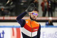 SHORT TRACK: TORINO: 14-01-2017, Palavela, ISU European Short Track Speed Skating Championships, Sjinkie Knegt (NED), ©photo Martin de Jong