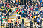 Eoin Brosnan Dr Crokes in Action against Liam Treacy Loughmore-Castleiney in the Munster Senior Club Semi-Final at Crokes Ground, Lewis Road on Sunday
