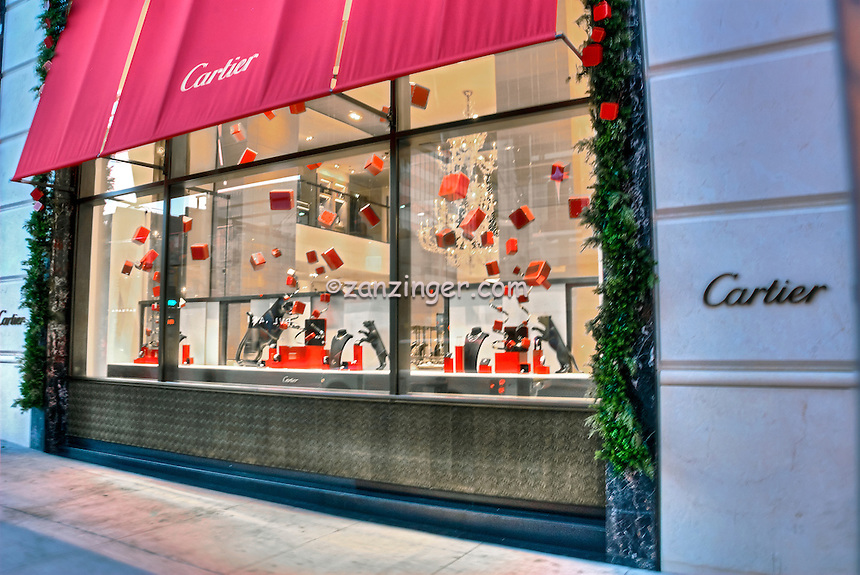 Cartier Beverly Hills CA; Rodeo Drive; Luxury Fashion Boutique